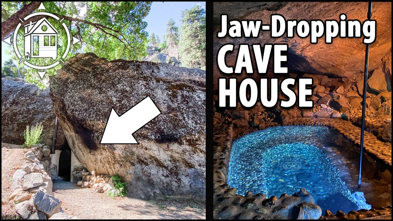 Fabulous Cave House w/ Luxury Interior & Stone Hot Tub