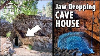 Fabulous Cave House w/ Luxury Interior & Stone Hot Tub