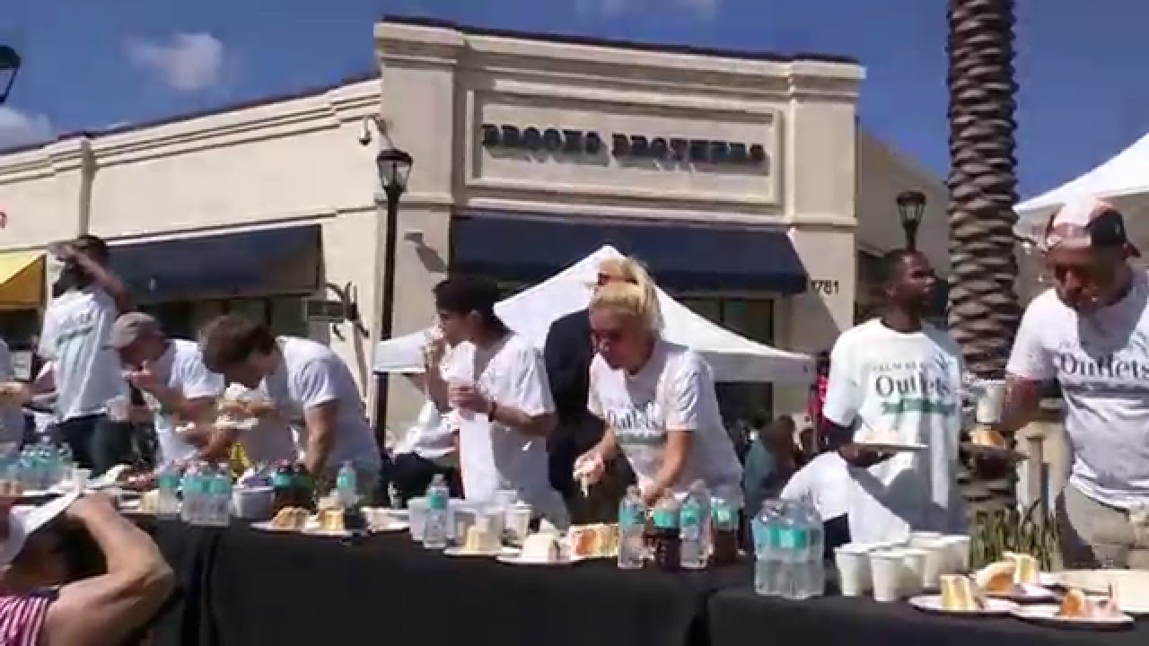 2016 MLE National West Palm Beach Birthday Cake Eating Contest Raw
