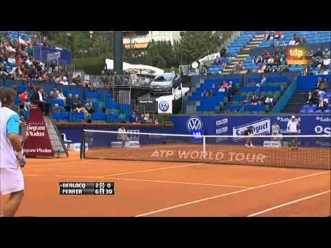 ATP 2011 Barcelona R2 Ferrer vs Berlocq