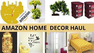 AMAZON HOME DECOR AND FURNISHING HAUL|घर को सजाये AMAZON से ली गयी इन चीज़ों से