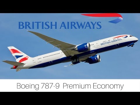 Trip Report | British Airways | London - Mexico City | World Traveller Plus | Boeing 787-9