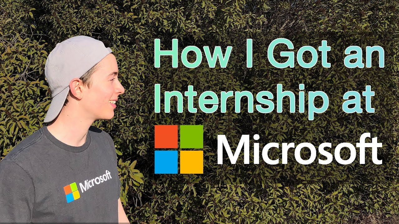 This is the story of how I (Mark) got an internship at Microsoft! I'm really excited to be working there this summer, and hope this demystifies the process o...