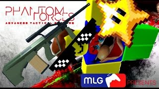 Roblox Phantom Forces: Aug A1 Killing Montage