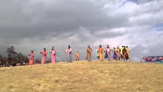 Bhutanese song at Dochula Tshechu, Thimphu, 2013