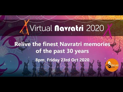 Shruti Arts Navratri 23rd October 2020 in association With Indigo Restaurant Leicester