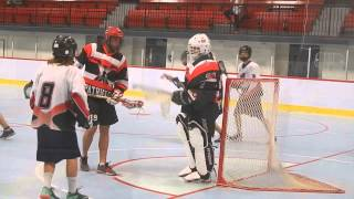 Patriotes de Lonueuil vs Extreme Sherbrooke Jnr Lacrosse May 19 2015