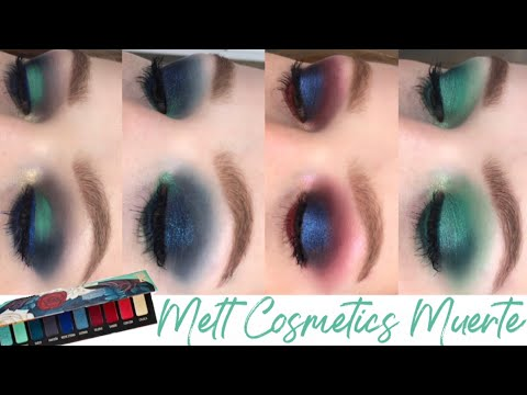 Week of Muerte by Melt Cosmetics | 5 Looks + Review