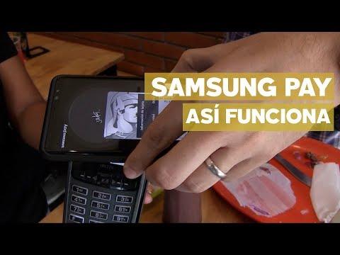 Así funciona Samsung Pay