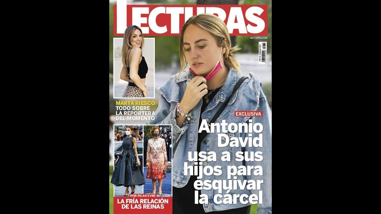 """DESGRANANDO EXCLUSIVA/ LECTURAS """"ANTONIO D. USA A SUS HIJOS PARA EVITAR LA CÁRCEL""""(¿MÁS MENTIRAS ?)"""