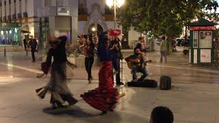 Flamenco dancers Seville