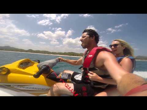 Things to do in Costa Rica when you're drunk - Jet Ski GoPro