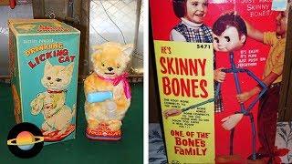 10 najdziwniejszych zabawek z dawnych lat