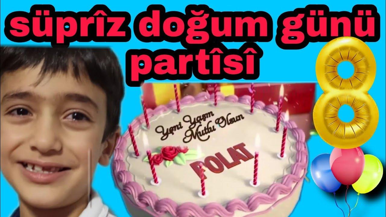 FENOMEN AİLESİ POLATA SUPRİZ DOGUM GÜNÜ PARTİSİ