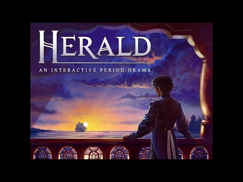 Let's Play Herald: An interactive period drama Book 1 & 2 - #IndieGame - Walkthrough - Gameplay PC