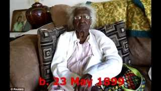 Top 10: Oldest Living People (October 2014)