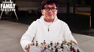 The LEGO NINJAGO Movie | Behind the scenes Ninja stunts with Jackie Chan