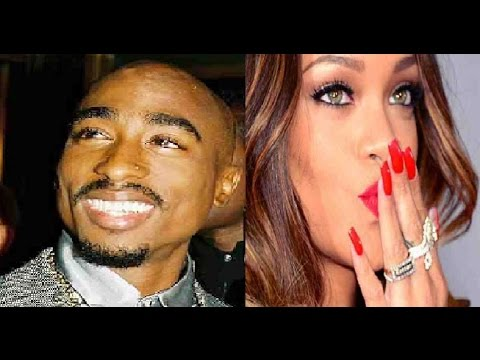 2pac Seen Alive Partying With Rihanna - YouTube