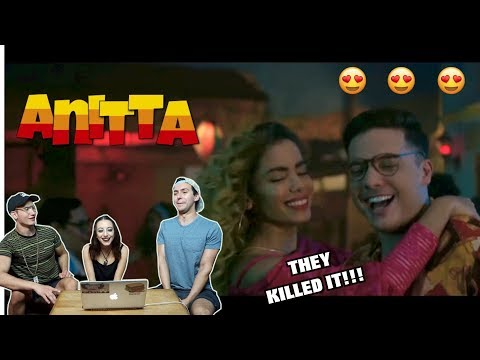 Wesley Safadão e Anitta - Romance Com Safadeza REACTION