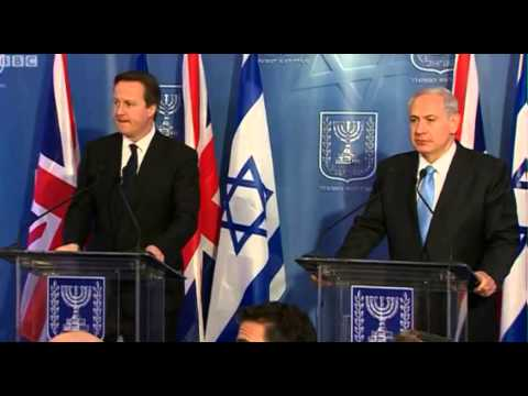 Israeli journalist calls David Cameron Gordon