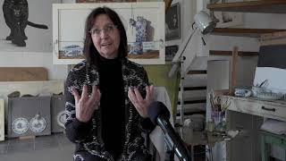 Cultuur@home - Anne-Marie Hooyberghs (schrijfster en kunstschilder)