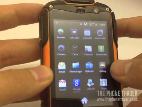 Utano Barrier T180 Handset Demo