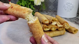 Potato and Cheese FLAUTAS   How To Make Rolled Tacos   Taquitos Recipe
