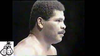 ADILSON MAGUILA VS. MIKE ROUSE - 1989