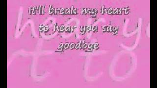 Celine Dion-Goodbye