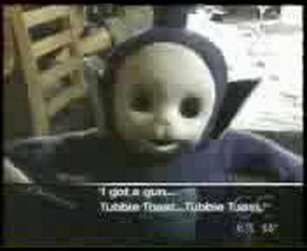 Telitubby Has A Gun Youtube