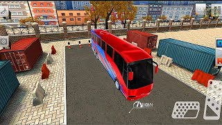 Modern Bus Simulator: New Parking Bus Game - Android Gameplay screenshot 1