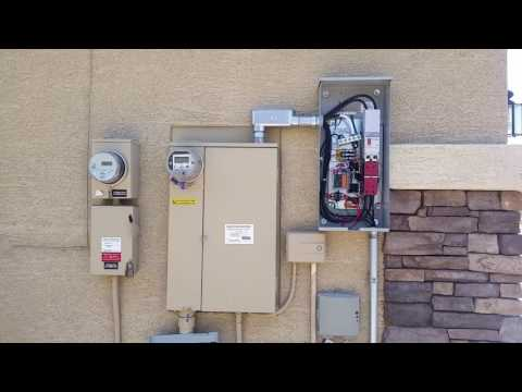 20kw Generac generator with automatic transfer switch installed by Joe