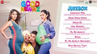 Good Newwz - Full Movie Audio Jukebox   Akshay, Kareena, Diljit, Kiara