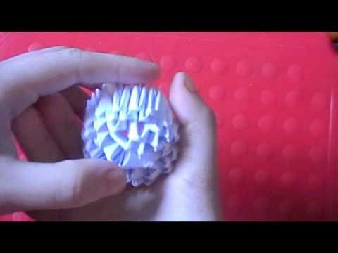 3D Origami Pokeball