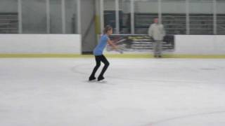 Double Salchow on Ice
