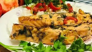 Ваши Гости Удивятся👀😋Рецепт рыбы без духовки и муки!)