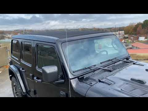 New 2020 Jeep Wrangler Rubicon JL Sky One-Touch Power Top Demonstration
