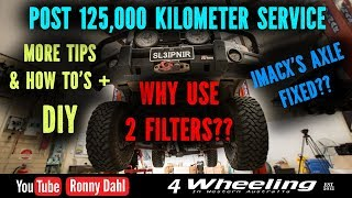 Landcruiser Service 125,000km, Whats Fixed & TIPs