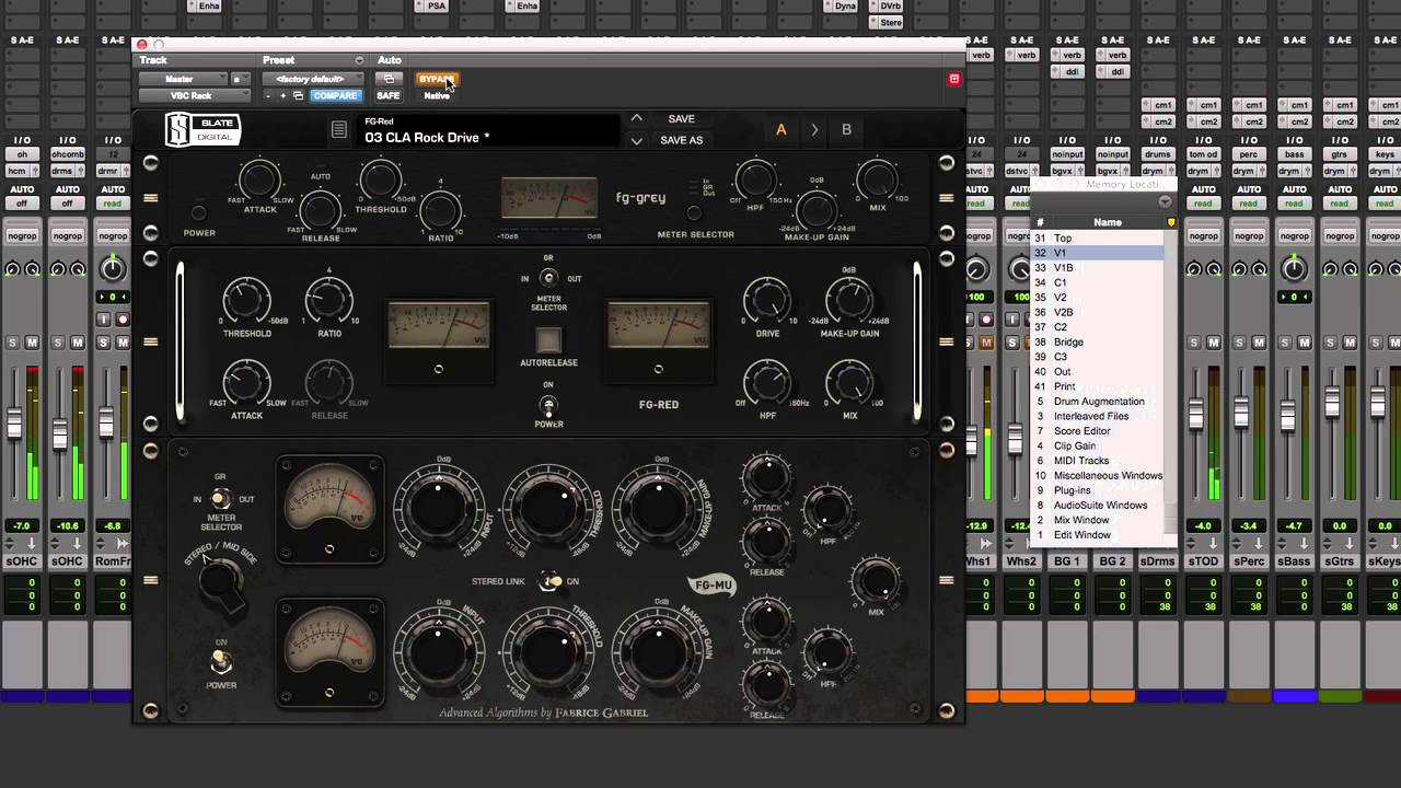Review Of Slate Digital VBC Virtual Buss Compressors - YouTube