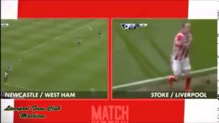Video Gol Pertandingan Liverpool vs Stoke City