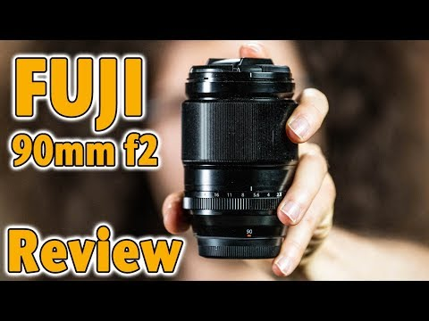 FUJI XF 90mm f2 Lens Review | Perfect for PORTRAIT Photography
