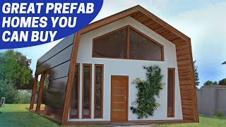 7 Great Prefab Homes #1  Some Affordable