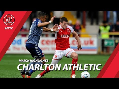 Fleetwood Town 1-3 Charlton Athletic | Highlights