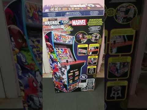 it's fight time arcade 1up Marvel vs street from Morty 215 ,30 Z9TPK RZ3