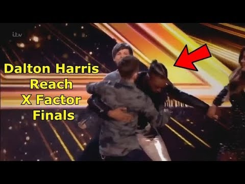 Dalton Harris Almost Catch A Heart Attack When He Made It To X Factor Finals Today