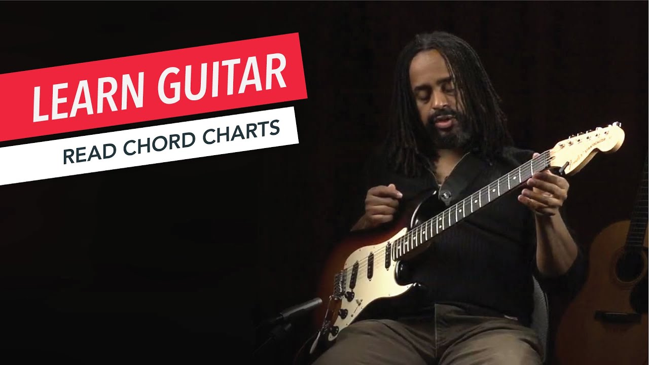 Beginner Guitar Lessons How To Read Chord Charts Guitar Lesson