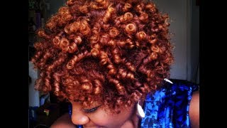 Perm Rods on Natural Hair 4C | NaturallyNellzy