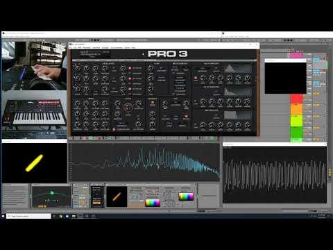 Sequential Pro 3 Sound Design - Aggressive Lead - Dagger Distortion