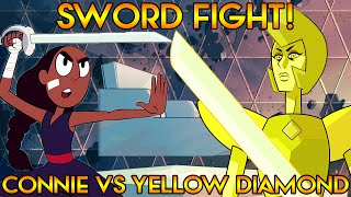 CONNIE VS YELLOW DIAMOND SWORDFIGHT [Steven Universe Theory] Crystal Clear Ep. 29