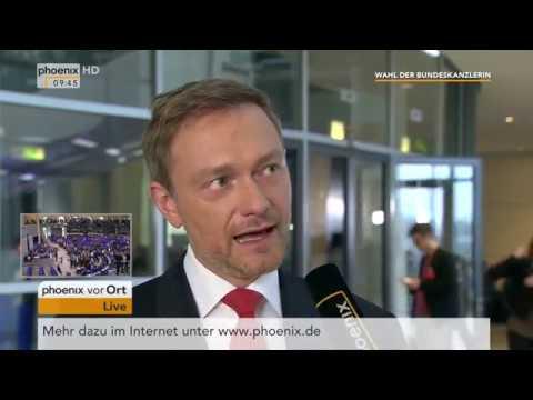 Christian Lindner zur Bildung der Regierung und der Wahl der Bundeskanzlerin am 14.03.18